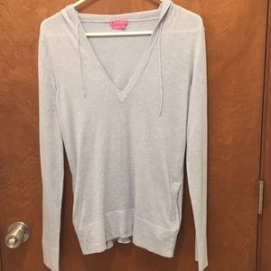 BCBG girls shirt with hoodie size small